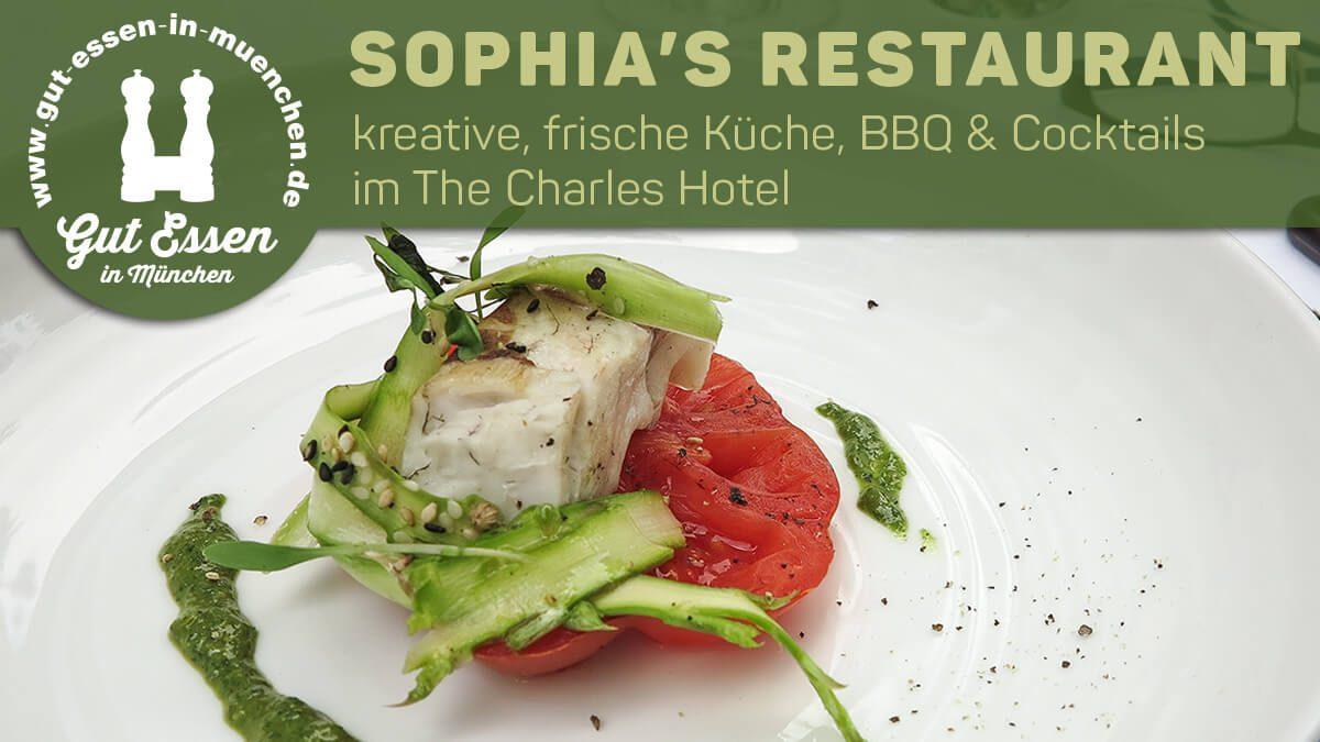 Sophia's Restaurant & Bar im The Charles Hotel mit BBQ im Sommer
