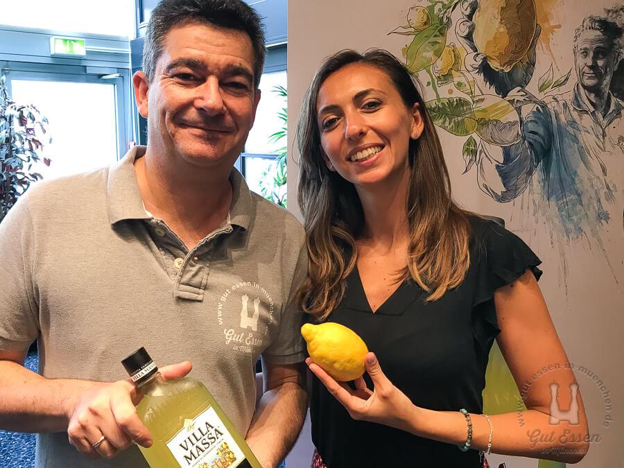 Gut Essen in München mit Sara Massa
