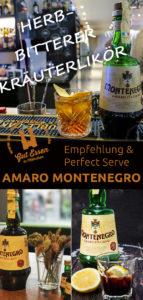 Amaro Montenegro: Fein herber Kräuterlikör – auch zum Mixen