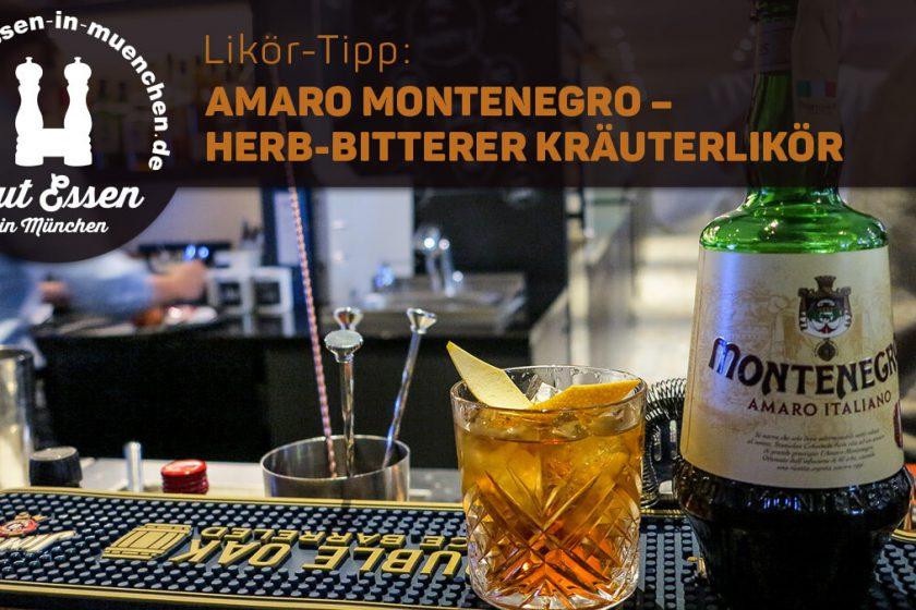 Amaro Montenegro Italiano - fein herber Kräuterlikör