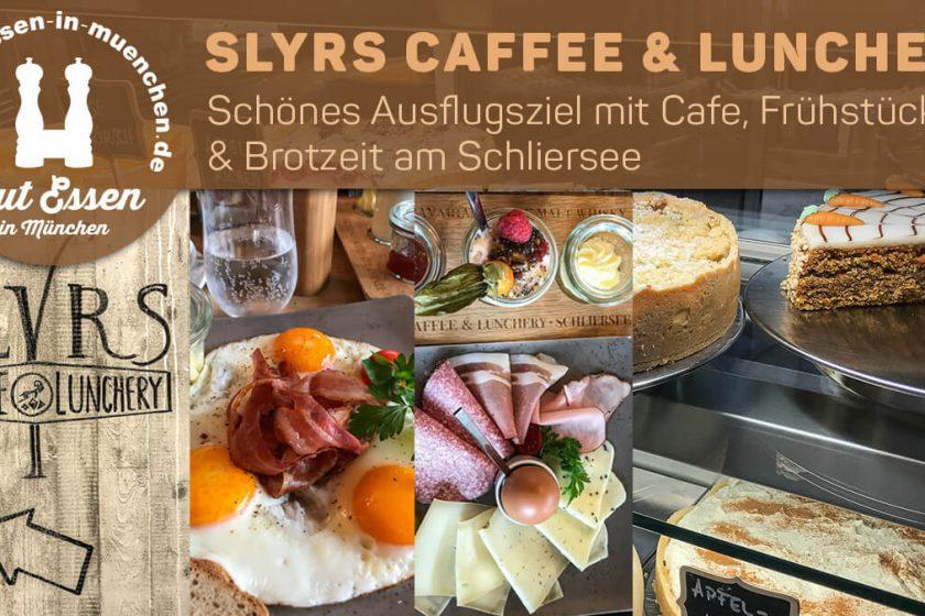 Slyrs Caffee & Lunchery – für Ausflüge mit Frühstück & Brotzeit an den Schliersee