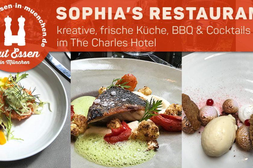 Sophia's Restaurant & Bar im The Charles Hotel mit Lunch-Menü und BBQ im Sommer
