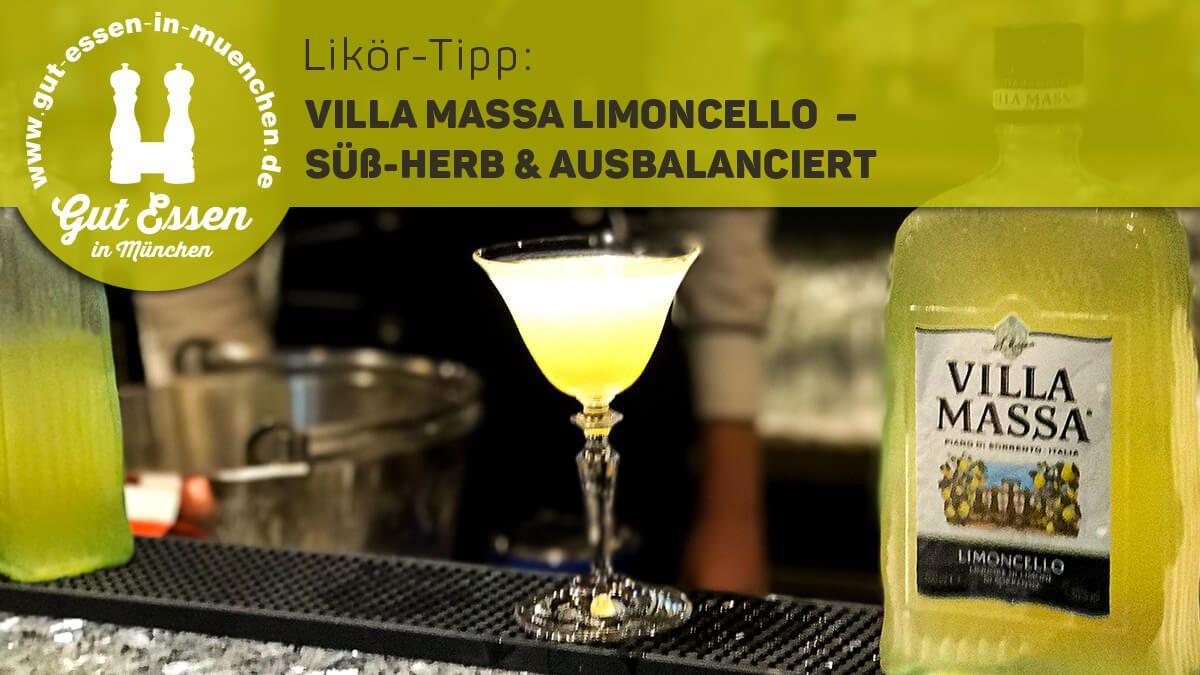 Villa Massa Limoncello: süß-herber & ausbalancierter Zitronenlikör