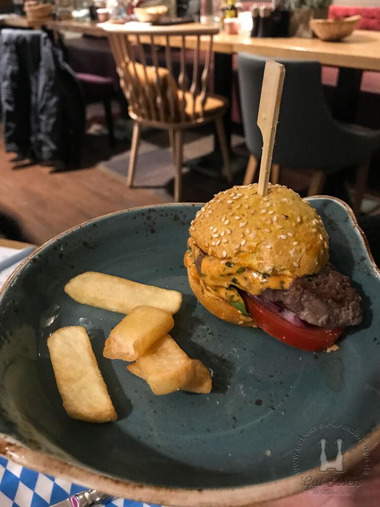 Mini-Rumpsteakburger