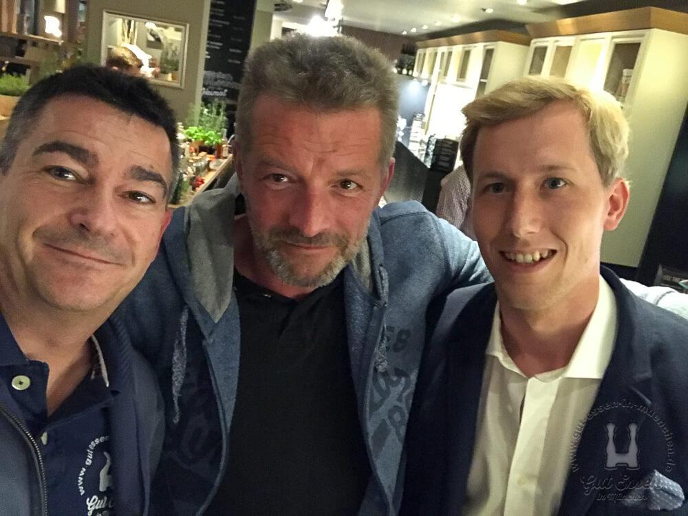 Karl mit Andreas Pralle, Schwarze und Schlichte und Korbinian Achterbusch, Feel