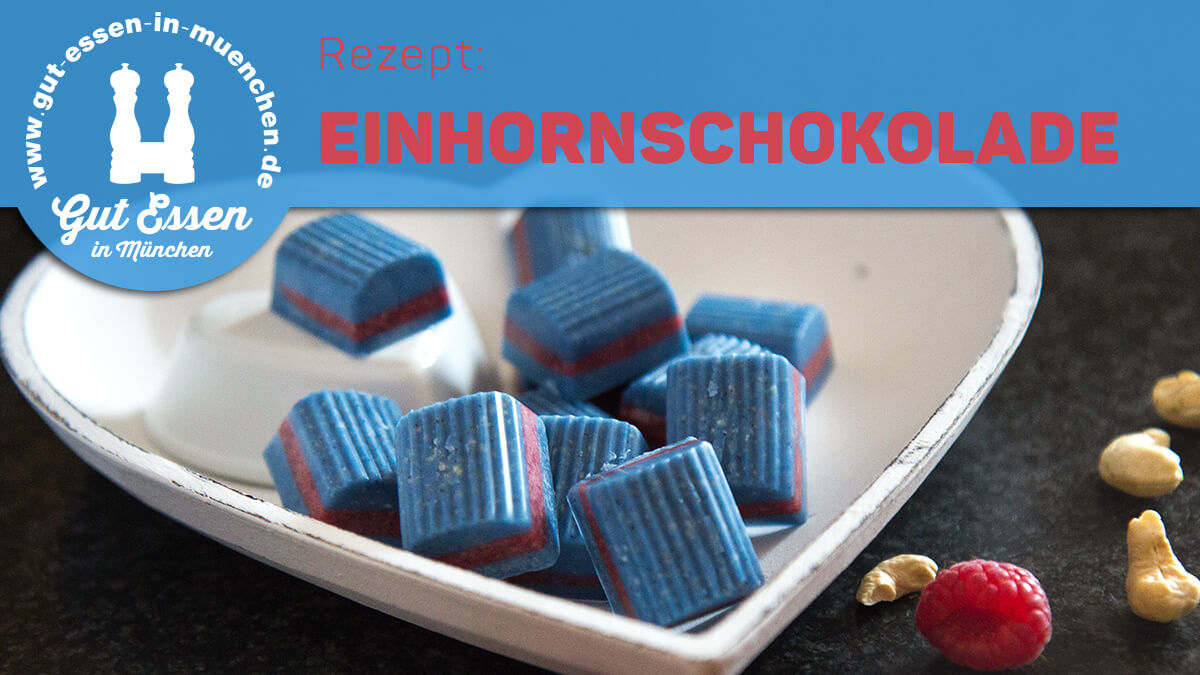 Nachgekocht: Einhornschokolade – farbenprächtig und vegan