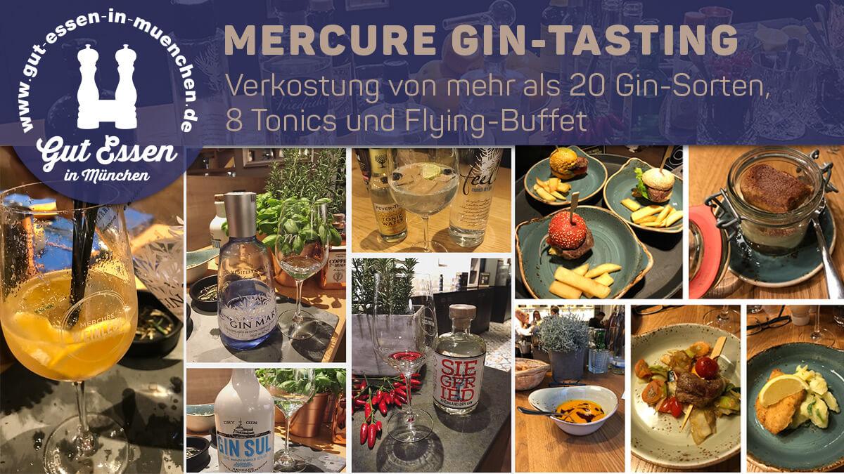 Gin-Tasting im Mercure Hotel München City Center