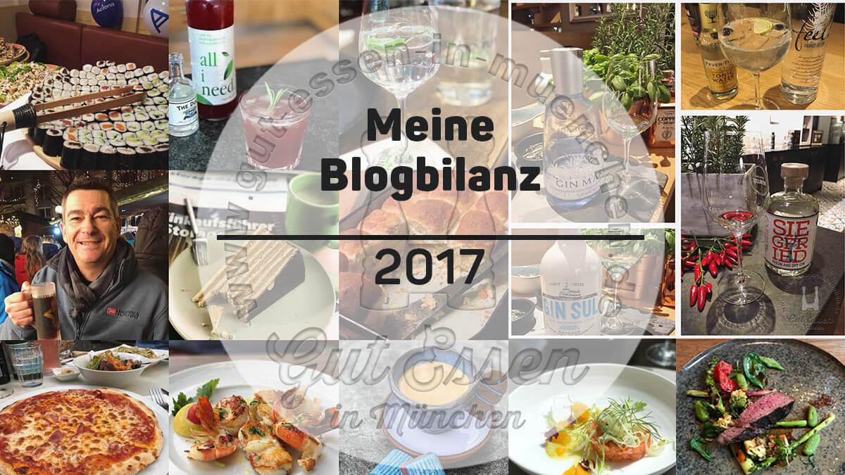 Gut Essen in München: Das war 2017 und das sind meine Ziele für 2018 – #foodblogbilanz17