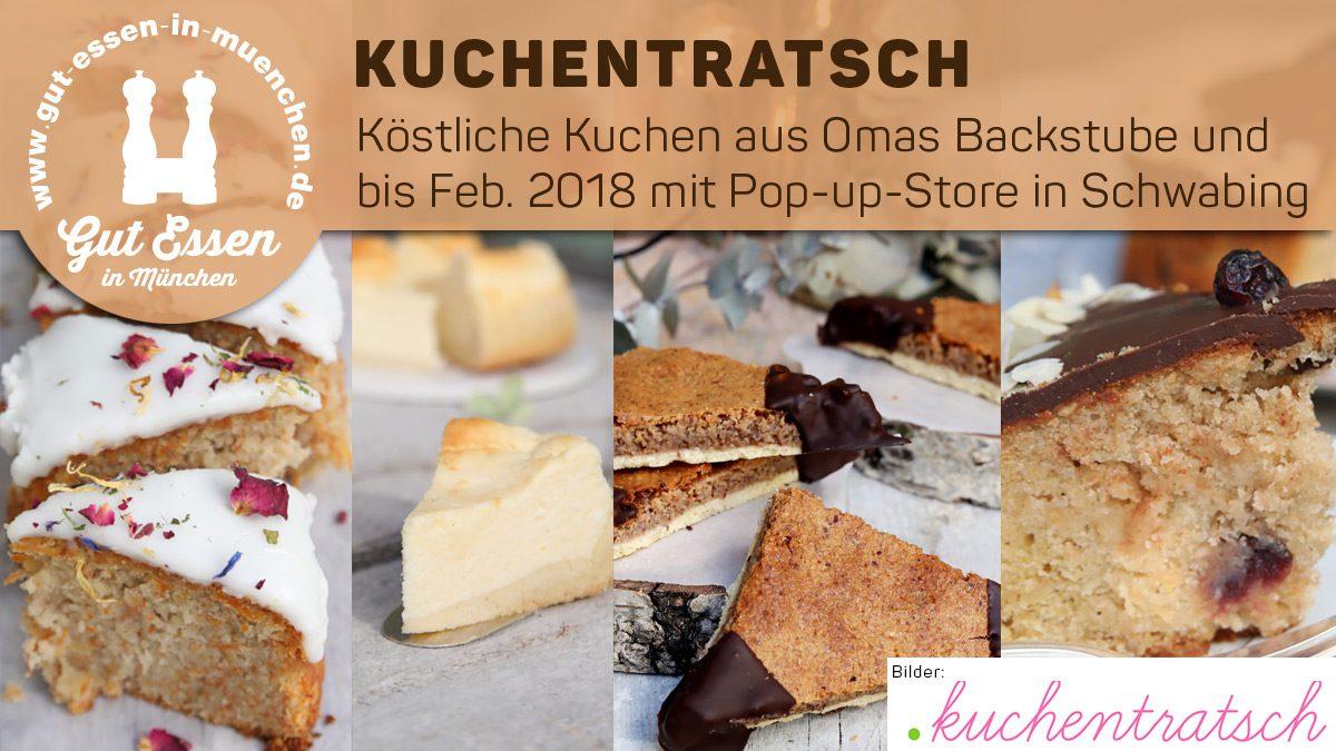 Kuchentratsch: Köstliche Kuchen aus Omas Backstube