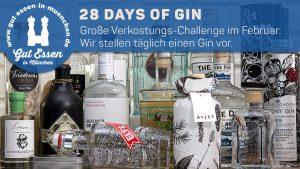 28 Days of Gin - Große Gin-Verkostung auf Gut Essen in München