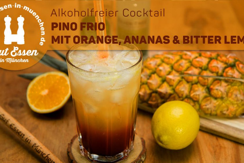 Pino Frio – Alkoholfreier Cocktail mit Bitter Lemon