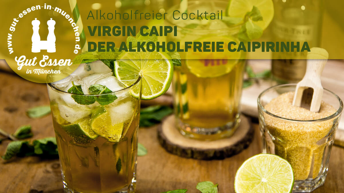 Rezept: Virgin Caipi
