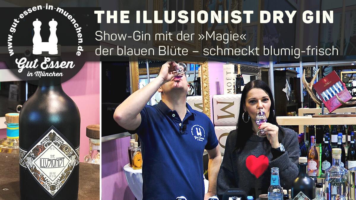 The Illusionist Dry Gin – Show-Gin mit der blauen Blume