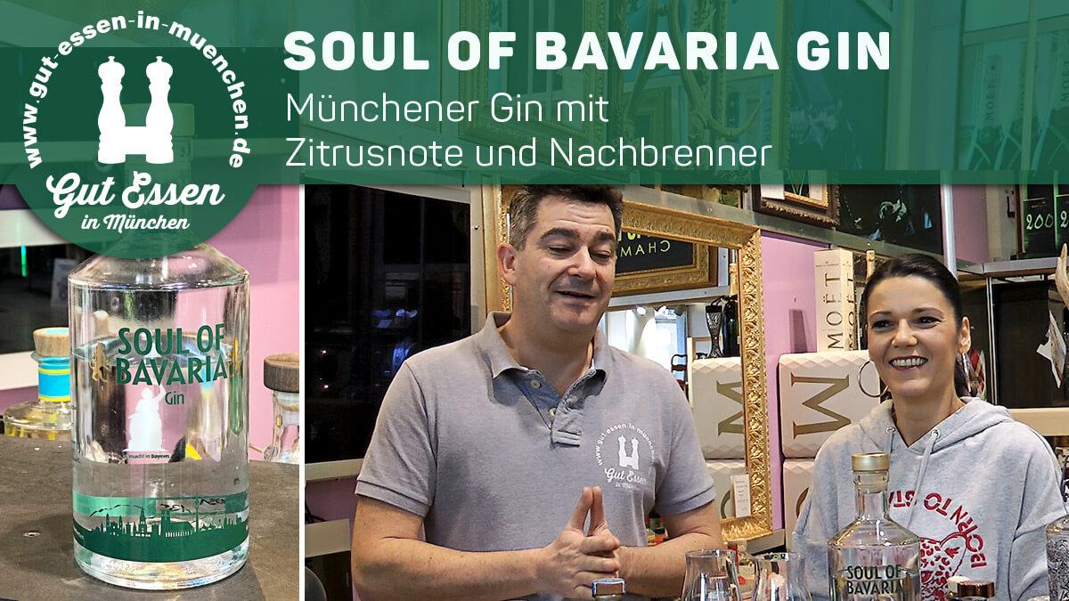 Soul of Bavaria – Münchener Gin mit deutlicher Zitrusnote
