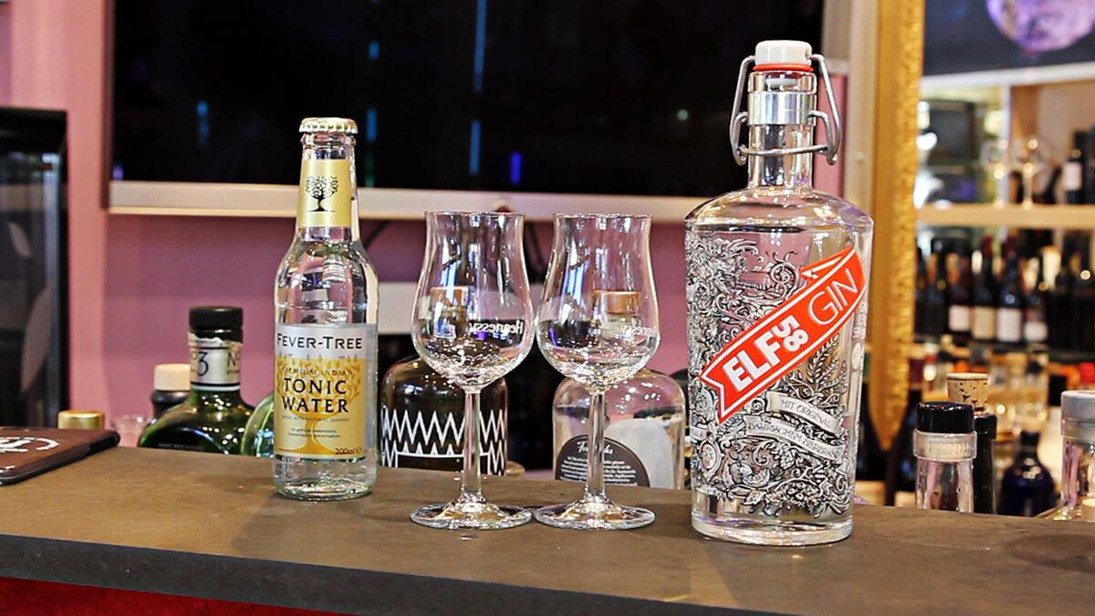 Wir empfehlen ein Indian Tonic zum Elf58 Gin