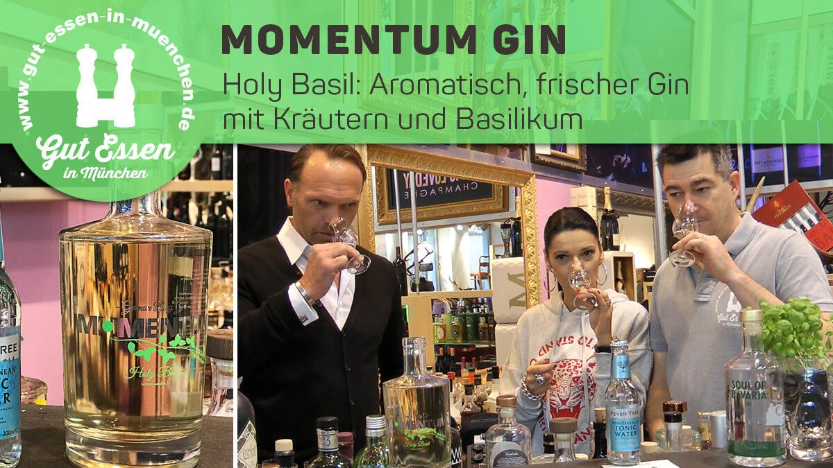 Momentum Gin – Frischer Kräuter-Gin mit Basilikum