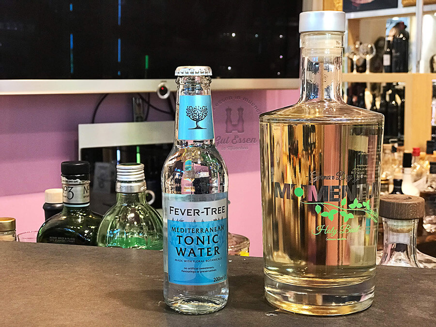 Tonic-Empfehlung zum Momentum Gin, Fever-Tree Mediterranean