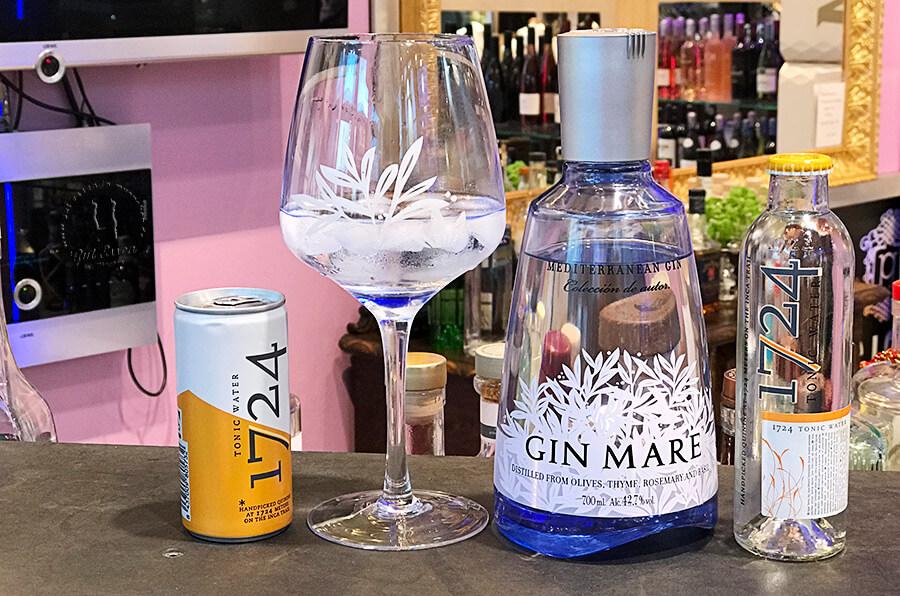 Gin Tonic mit dem 1724