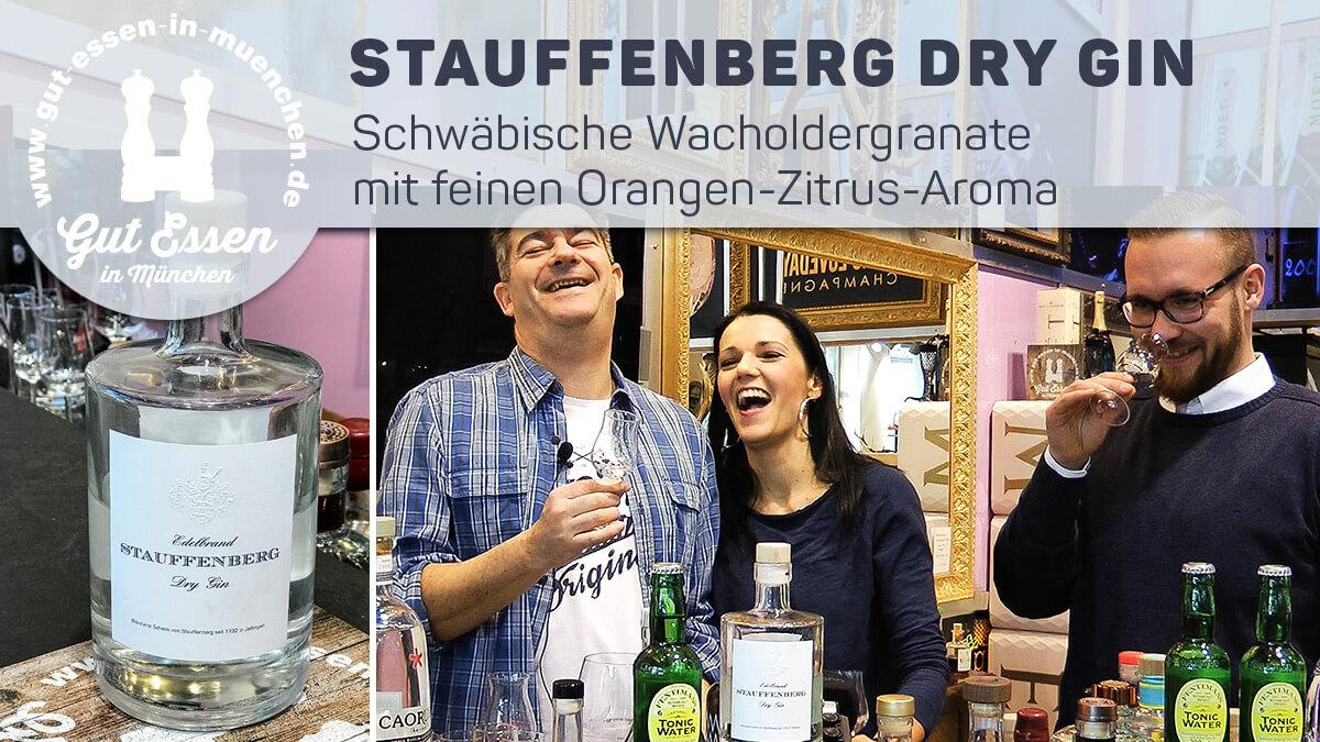 Stauffenberg Dry Gin – Schwäbische Wacholdergranate mit feinen Orangenaroma
