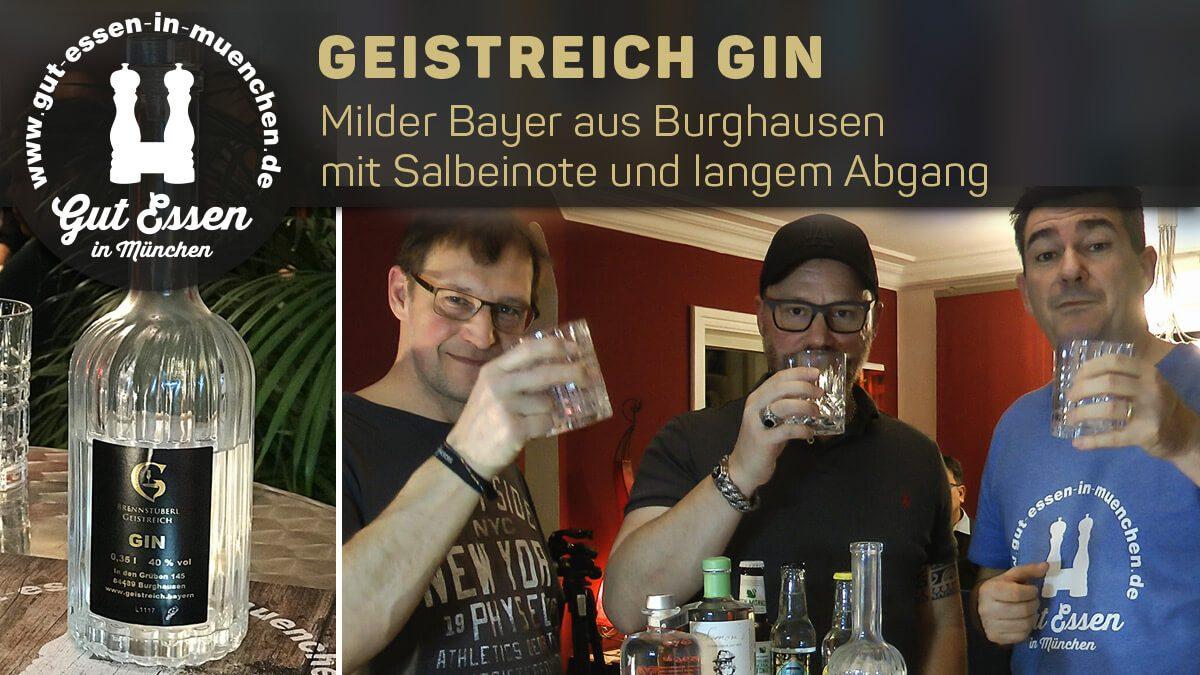 Geistreich Gin – Milder Bayer aus Burghausen mit Salbeinote