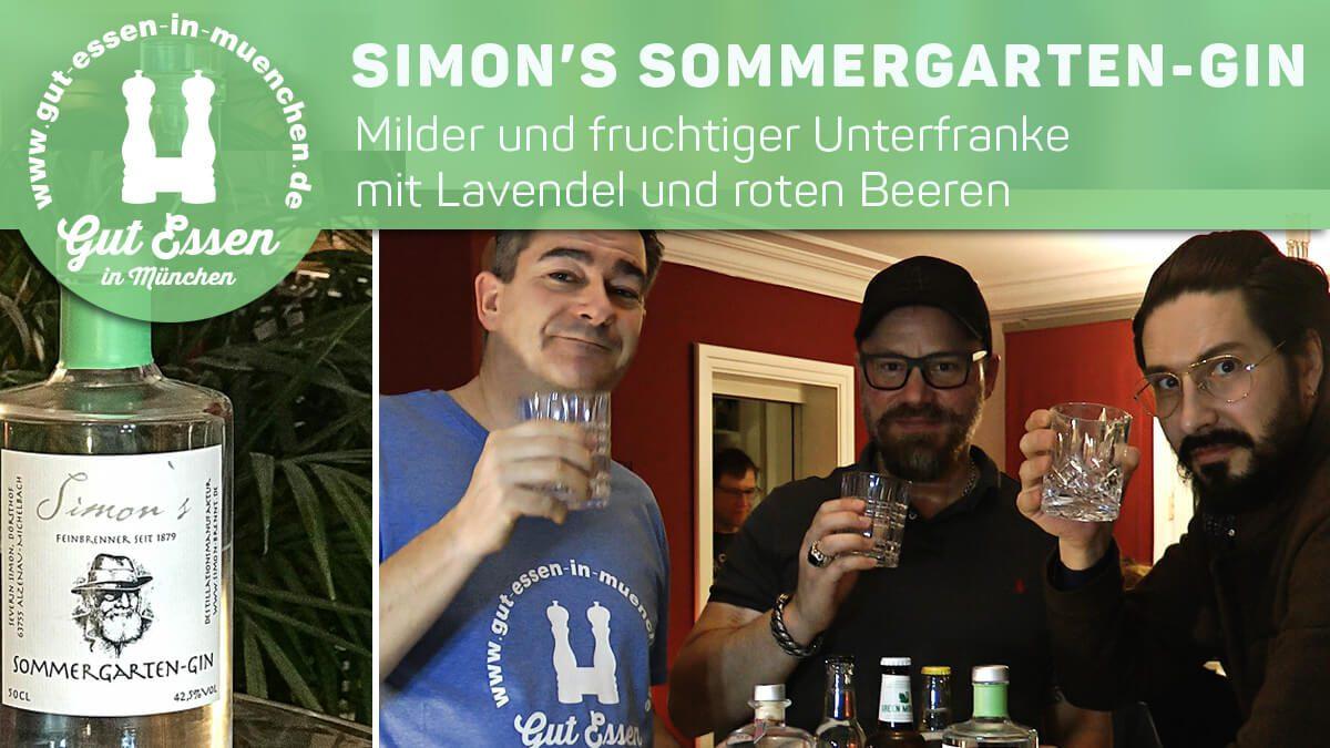 Sommergarten-Gin – milder und fruchtiger Unterfranke mit Lavendel und roten Beeren