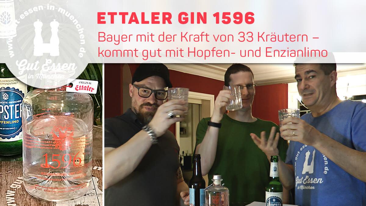 Gin 1596: Beayrische Kräuterbombe