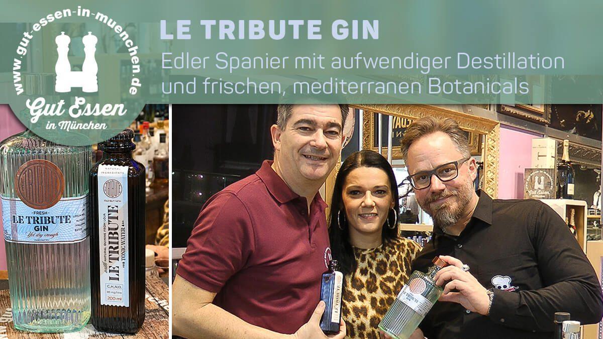 Le Tribute Gin – Edler Spanier mit aufwendiger Destillation und frischen, mediterranen Botanicals