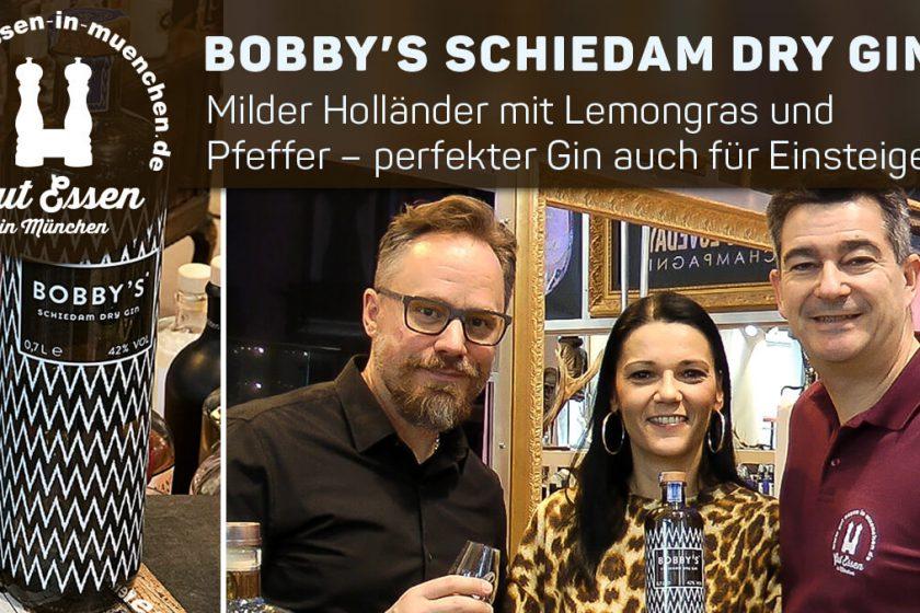 Bobby's Schiedam Dry Gin – Milder Holländer mit Lemongras