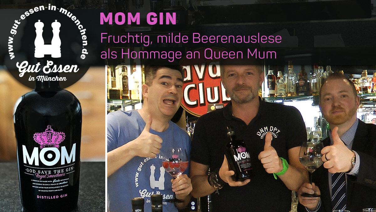 MOM Gin – Fruchtig, milde Beerenauslese als Hommage an Queen Mum