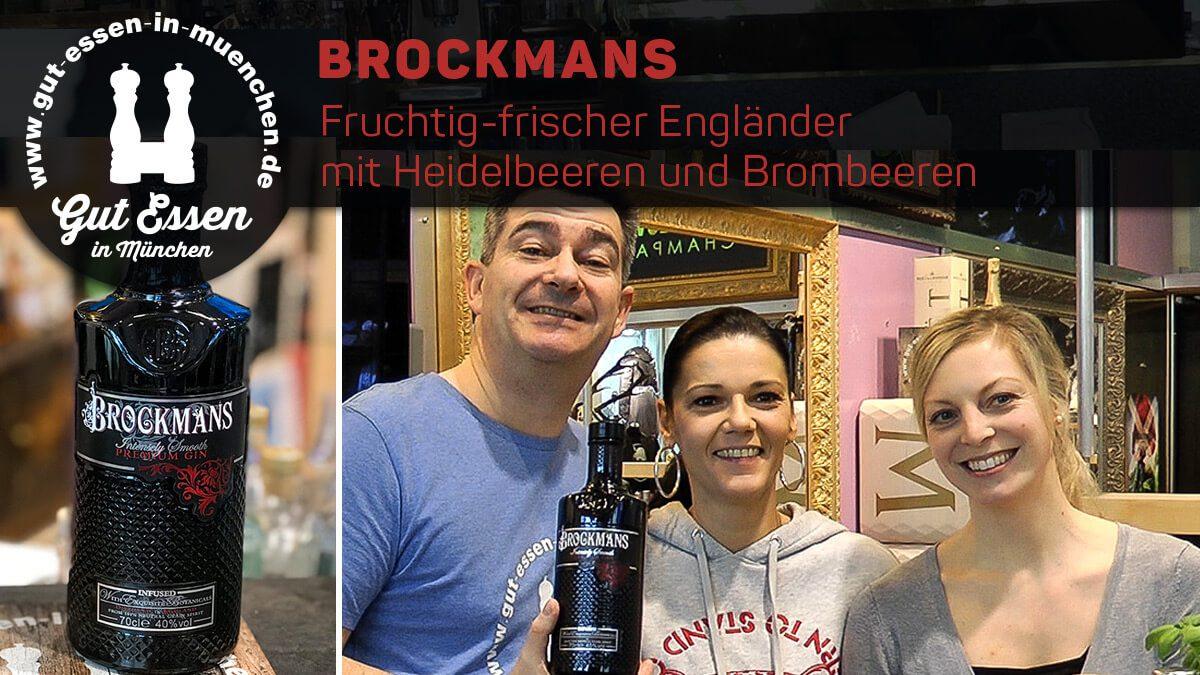 Brockmans Gin – Fruchtig-frischer Engländer mit Heidelbeeren und Brombeeren