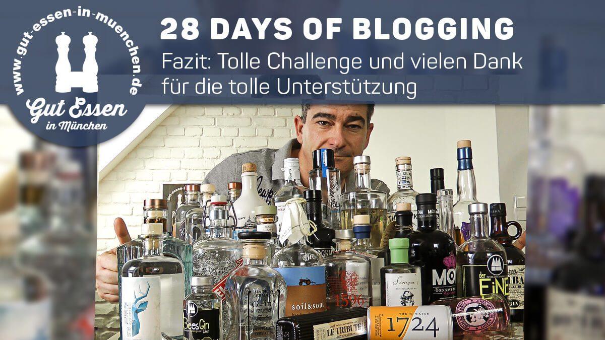 28 Days of Blogging 2018 – Fazit