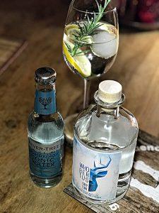 Gin Tonic mit Whobertus und Fever-Tree Mediterranean