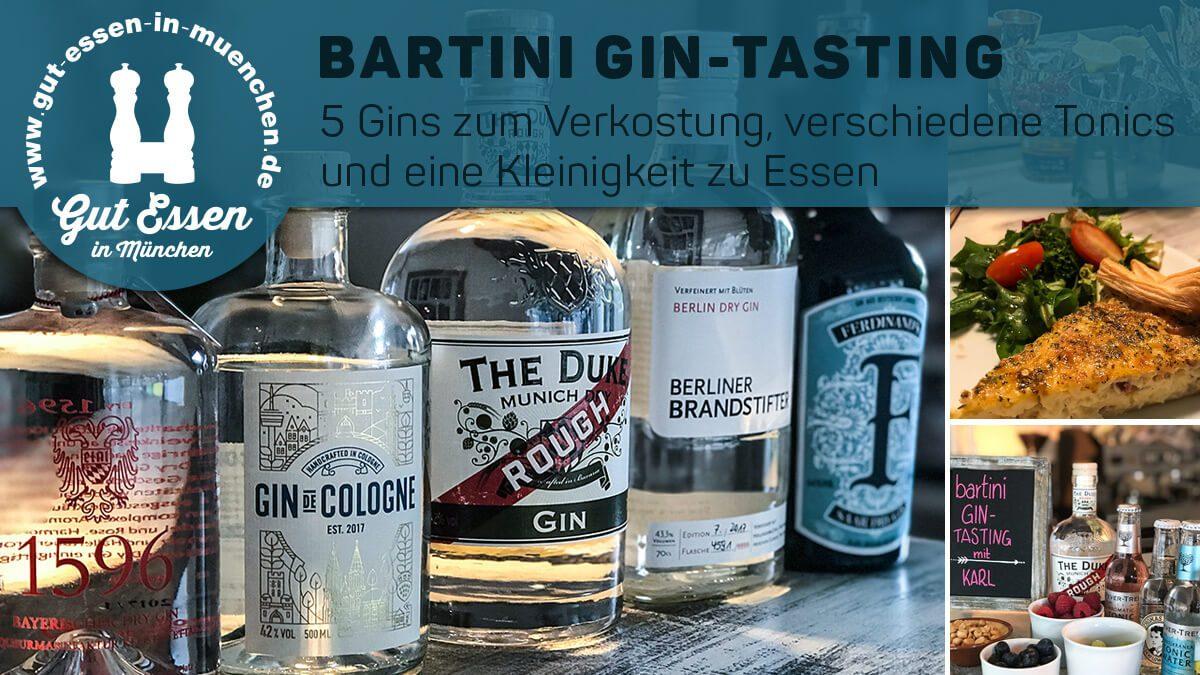 Deutsche Gins im Bartini-Tasting
