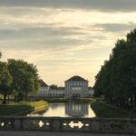 Die Tour führt uns auch Schloß Nymphenburg vorbei
