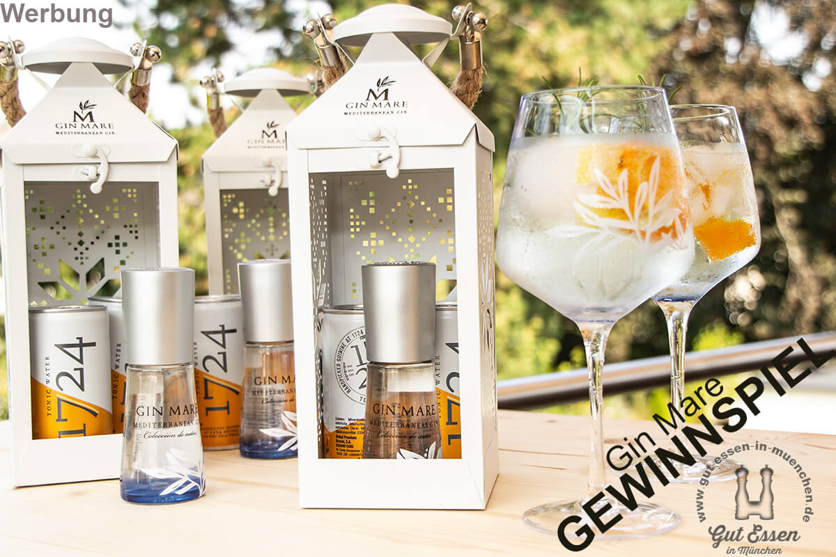 Verlosung: Gin-Mare-Laternen und Gin-Mare-Gläser-Set