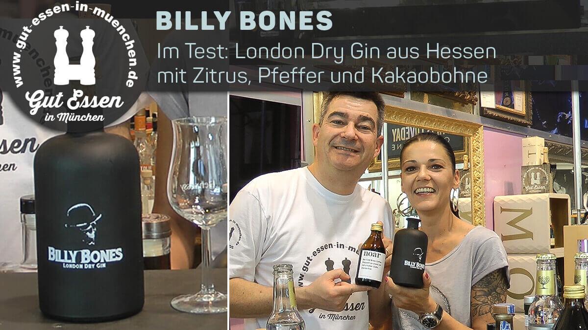Billy Bones Gin: Scharfer Hesse mit Kakaobohne und Pfeffer