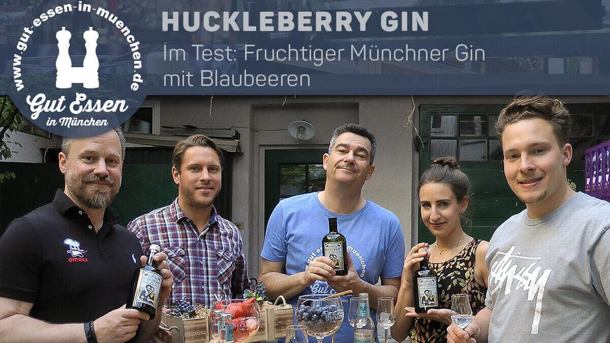 Huckleberry Gin: Freundlicher Münchener mit Blaubeeren