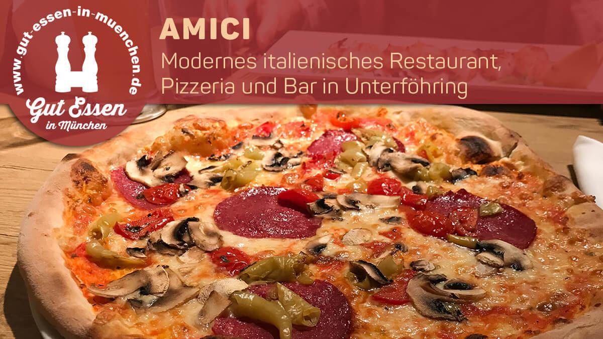 Modernes italienisches Restaurant, Pizzeria und Bar in Unterföhring