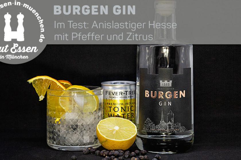 Burgen Gin – Anislastiger Hesse mit Pfeffer und Zitrus im Test