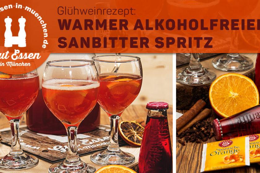 Warmer alkoholfreier Aperol Spritz mit Sanbitter – schnelles Rezept