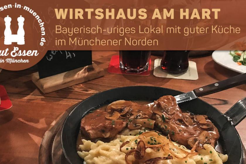 Bayerisch-uriges Lokal mit guter Küche im Münchener Norden