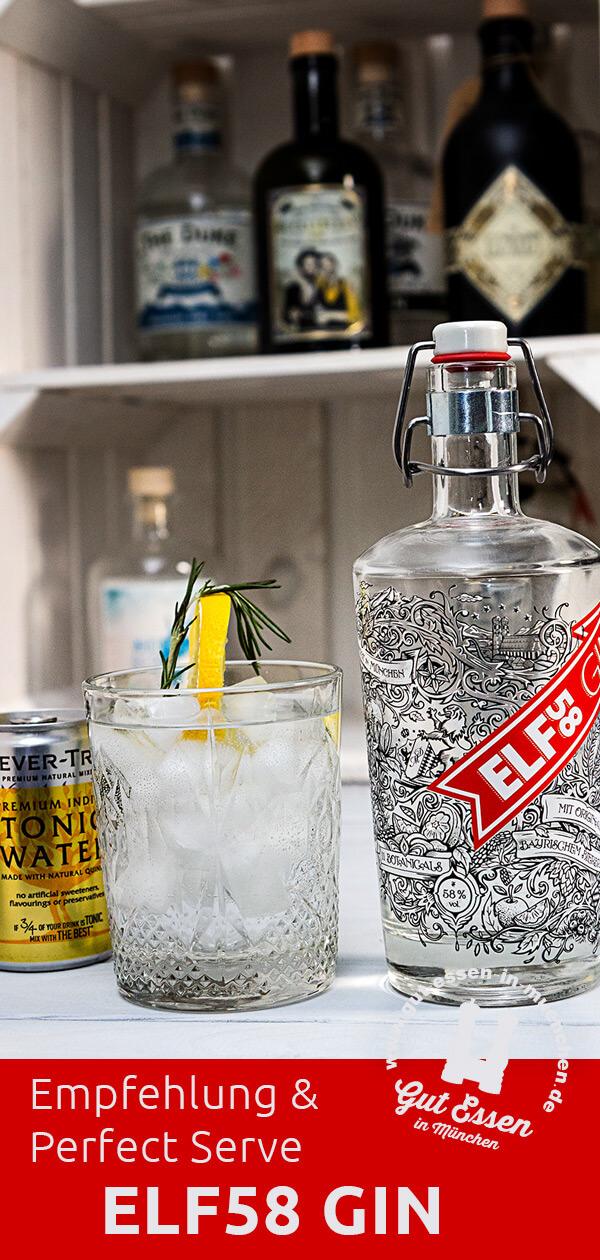 Elf58 Gin – Münchens stärkster Gin mit Bierbrand