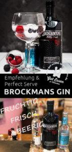 Brockmans Gin – Fruchtig-frischer Engländer mit Heidelbeeren & Brombeeren