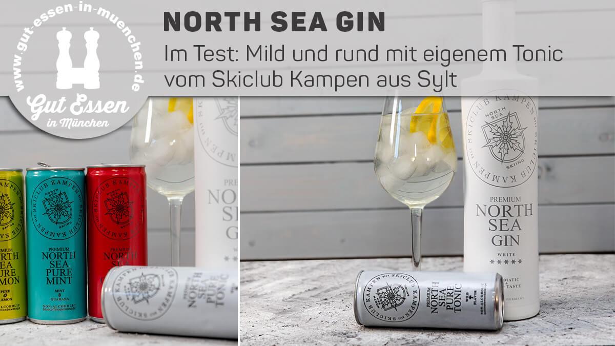 North Sea Gin – Frischer und runder Sylter aus dem Skiclub in der weißen Flasche