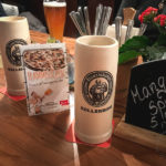 Kellerbier im Steinkrug (4,20 Euro)