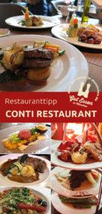 Das Conti Restaurant liegt zentral in der Innenstadt (Maxvorstadt) im Haus der Bayerischen Wirtschaft