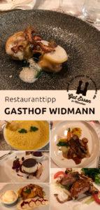 Gehobene Küche im Gasthof Widmann in Überacker