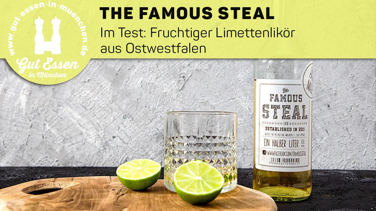 The Famous Steal – Fruchtiger Limettenlikör als Aperitif, Digestif und zum Mixen