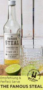 Limettenlikör The Famous Steal: Empfehlungen und Perfect Serves