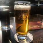 Ein Bierchen auf der Terrasse